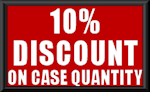 10% Discount on Case Quantity
